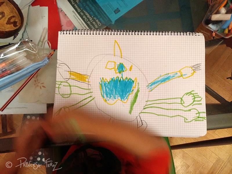 Así se gestó la calabaza-spider